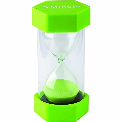 amazon com large sand timer 5 minute office products