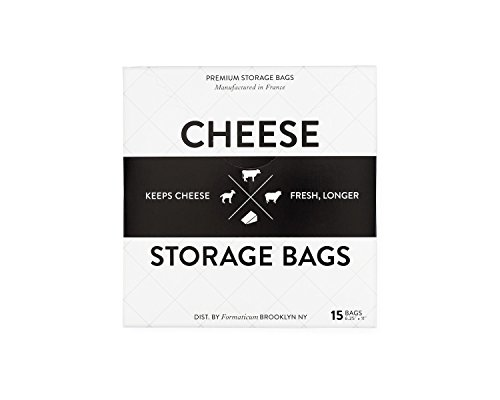 Formaticum Cheese Storage Bags, 15 Count Cheese Accessories
