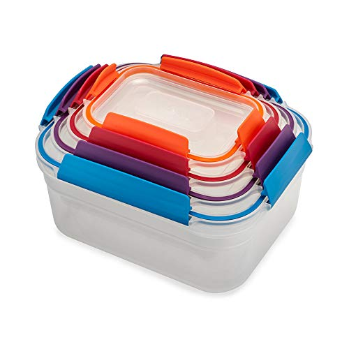 Joseph Joseph Nest Lock 4-Piece Storage Container Set - Multi-Colour