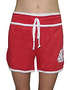 Womens WASHINGTON STATE COUGARS Running / Athletic Shorts L Red