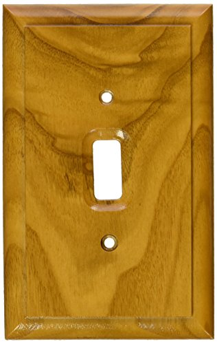 - MINTCRAFT OAK012 OakSwitch Plate