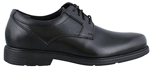 Rockport Mens Charles Road Plain Toe Oxford Black Leather 10 5 W  Ee  10 5 W