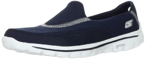 Skechers Performance Women's Go Walk 2 Slip-On Walking Shoe, Navy, 11 M US