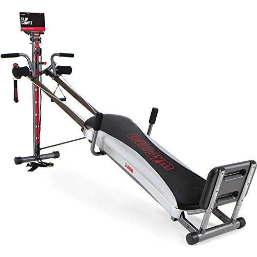 total gym 1400 deluxe home fitness exercise machine equipment with