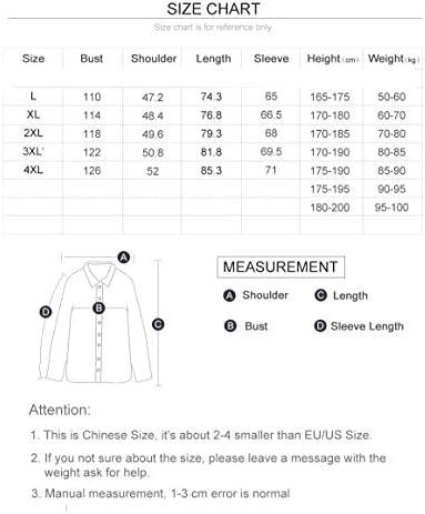 QBKYRF Giacche da Uomo Inverno Cotone Giacche Casual da Uomo Abbigliamento Giacca da Uomo con Cappuccio Multitasche Cappotti XXXL Cachi  QMj71