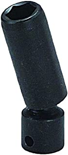 "product image for Wright Tool 3954 3/8"" Drive 6 Point Deep Universal Socket, 7/16"""