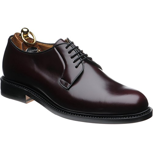 Herring  Herring Lakenheath, Chaussures de ville à lacets pour homme marron Burgundy Polished