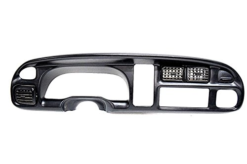 98 99 00 01 DODGE RAM SPEEDOMETER RADIO DASH BEZEL HAIR LINE CRACK OEM (Speedometer Dodge Ram)