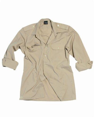 Camisa de servicio 1/1 Brazo Pr./C caqui - XL