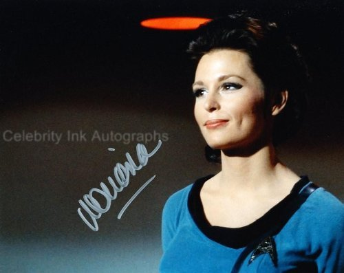 MARIANNA HILL as Helen Noel - Star Trek Classic Series Genuine Autograph -  Celebrity Ink Autographs - UACC RD#308