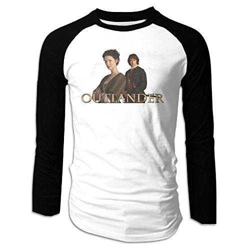 ARTBee Outlander Men's Long Sleeve Raglan Shirt Black S