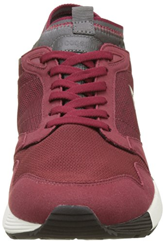 Le Coq Sportif Herren Omicron Craft Trainer Low Rot (Rouge Ruby Wine)