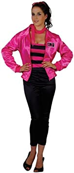 Grease T-Bird Cutie Pink Lady Fancy Dress Costume XL (disfraz ...