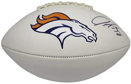 Gary Kubiak Signed Denver Broncos Football Mini Helmet w//COA #1