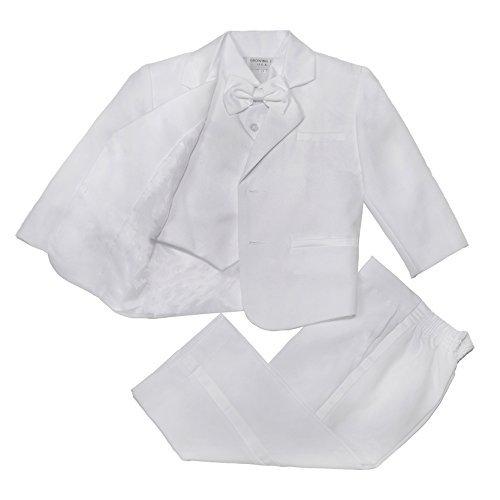NancyAugust Modern Baby Boy Formal Tuxedo with Vest S-XL by Nancy August