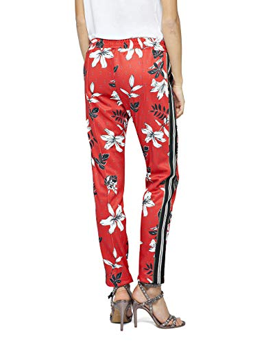 coloured Mujer Pantalones 10 Para Flowers Multicolor Replay x0q4vPCwv
