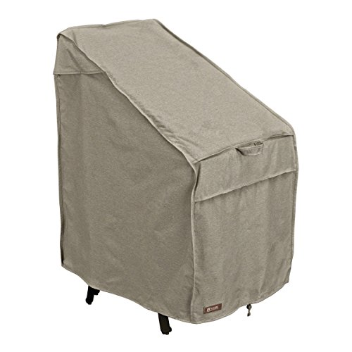 Classic Accessories Montlake Stackable Patio Chairs Cover