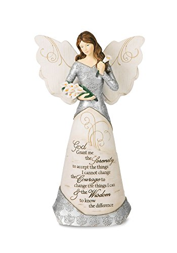 Pavilion Gift Company 82332 Serenity Angel Figurine, 9-Inch (Serenity Collectibles)