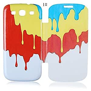 MOM Oil Series Leather Full Body Case for Samsung Galaxy S3 I9300 (Assorted Color)