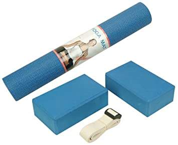 Amazon.com: Yoga Kit With Yoga Accessories: Health ...