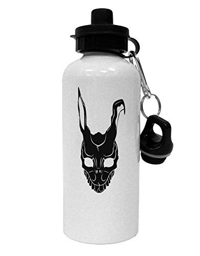 TooLoud Scary Bunny Face Black Aluminum 600ml Water Bottle - -