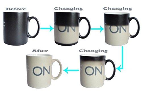 JOWSUA Color Changing Mug (Cereal Dispenser Rubbermaid)