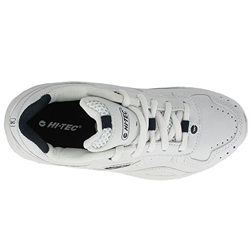 Hi-Tec Lace-Up Textile Lined Boys Shoes - White - Size 10 11 12 13 1 2 White