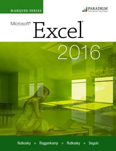 Marquee Series: Microsoft (R)Excel 2016: Text