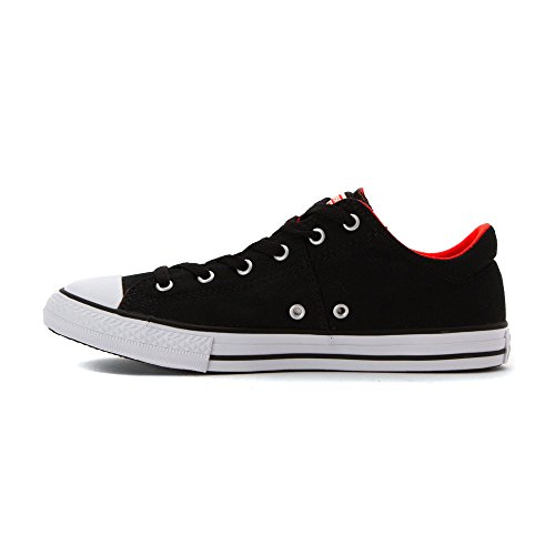 Converse Chuck Taylor All Star OX de temporada del hombre BLACK LAVA WHITE