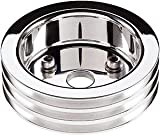 Billet Specialties 83320 Polished 3 Groove Water Pump Lower Pulley for Big Block Chevy