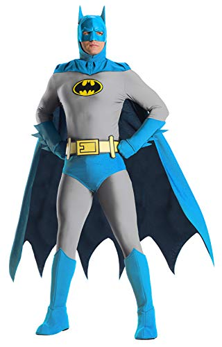 Charades DC Comics Batman  Adult Costume, As Shown, Large