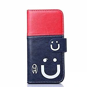 QHY Smiling Face Pattern Full Body Cover for iPhone 6 Plus , 2#