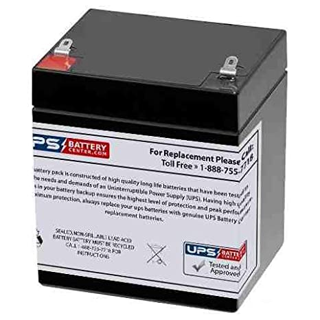 CA1240 12V 4AH FIRST ALERT ADT ALARM REPLACEMENT BATTERY