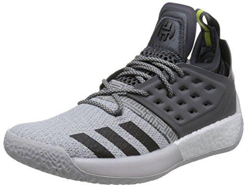 adidas Harden Vol. 2, Scarpe da Basket Uomo, Grigio (Grefiv/Trgrme/Grefou Grefiv/Trgrme/Grefou), 44 2/3 EU