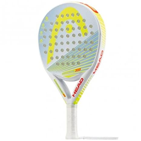 Head Lighthing 333 - Pala de pádel, Color Gris/Amarillo, Talla 38 mm