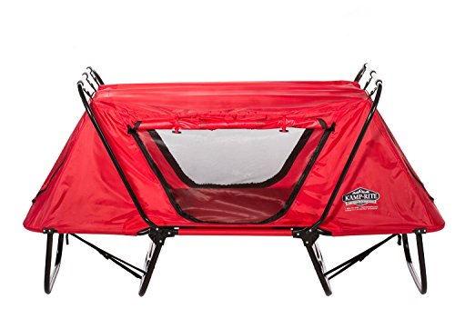 KAMP-KTC615-Kamp-Rite Kid Cot with Rain Fly, Red