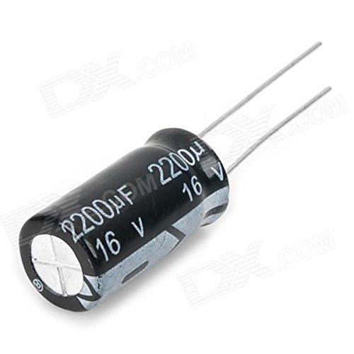 - 3x 2200uF 16v 105c High Temperature Radial Leads Aluminium Electrolytic Capacitor