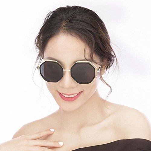 Color Gafas Gafas Coreanas Delgadas polarizadas Sol 2 Femeninas 1 Sol de Gafas de DT zq8IxP6q