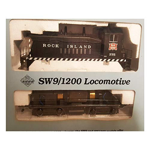 HO Scale Proto 2000 Series #21130 SW9/1200 Diesel Locomotive, Rock Island 775