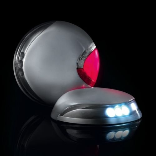 (Flexi VARIO LED Lighting System Front & Rear lights S, M, L, Dog Leads Visible)