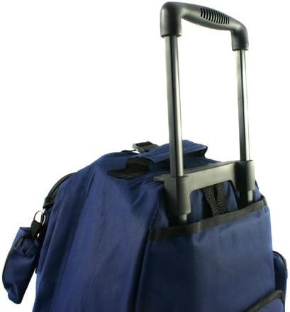 Transworld Roll-Away Deluxe Rolling Backpack - Khaki