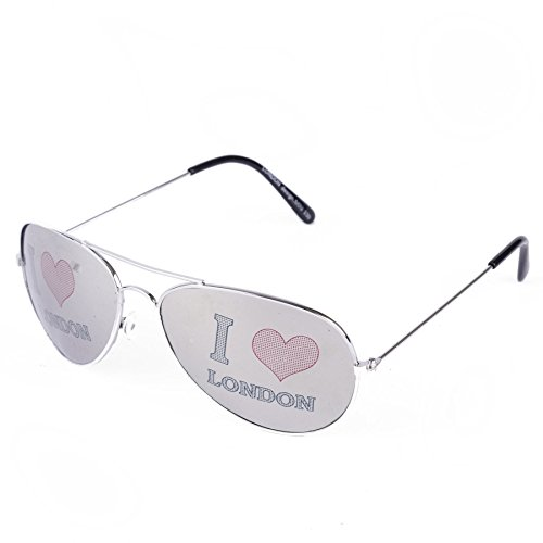 Pilot Style - I Love London - Sunglasses - Sunglasses Y London