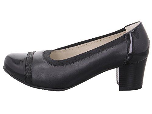 Comfortable 260413 DocComfort Women's Pumps Black - Black eULFY