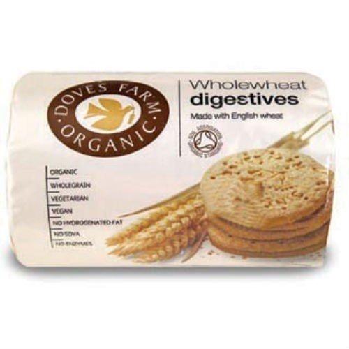 (4 PACK) - Doves Farm - Organic Digestive Biscuits DF-DIG200 | 200g | 4 PACK BUNDLE