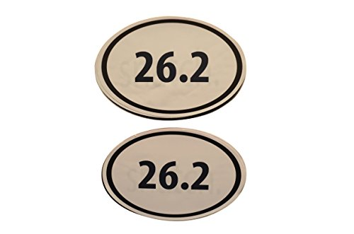 Fitness Bumper Stickers (26.2)