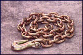 Mo-Clamp CHAIN W/HOOK 12FT 3/8 (MCL-6012) by Mo-Clamp (Image #1)