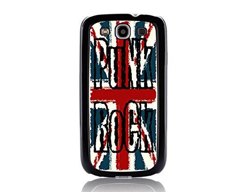 Punk Rock - England Flag Punk Rock - British Flag Punk Rock - Samsung Galaxy S3 I9500 & I9305 Black Case (C) Andre Gift Shop