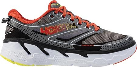 Hoka One One Clifton 3 Blue Red Orange Gris