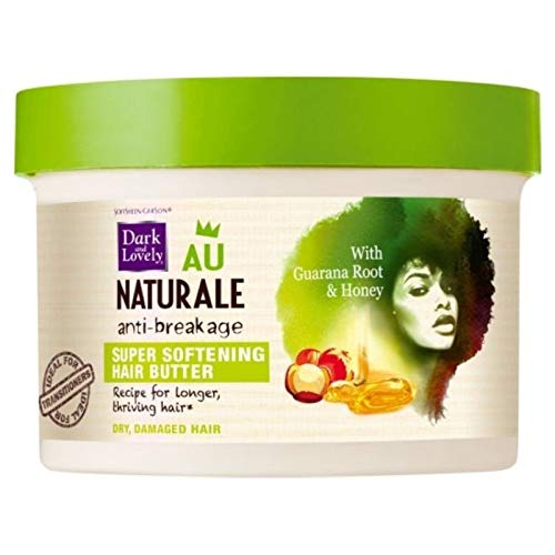 Dark and Lovely Au Natural Anti-Breakage Super Softening Hair Butter, 8 oz (Pack of 4)
