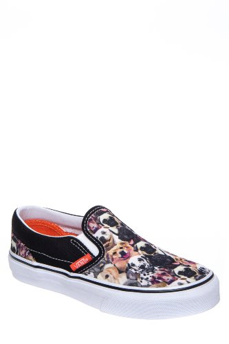 a5399c240e Vans Kids Classic Slip-On (Little Big Kid)